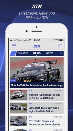 ran   NFL, Bundesliga, WM, DTM Screenshot