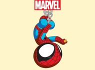 ‎Marvel Stickers: Young Marvel