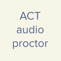 ‎ACT Audio Proctor