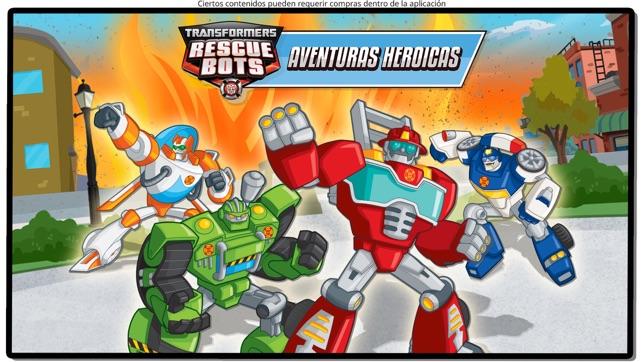 Transformers Rescue Bots Héroe Screenshot