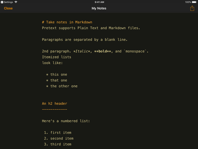 Pretext Screenshot