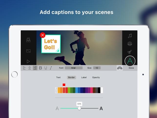 Write-on Video-Video Editor Screenshot