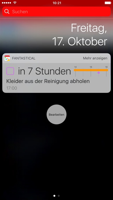 Fantastical 2 für iPhone Screenshot