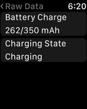 Battery Life Screenshot