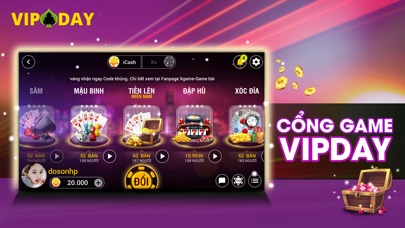 VIPDAY Game Danh Bai Online 1.0.6  IOS