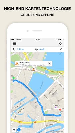 Scout GPS Navigation & Karten Screenshot
