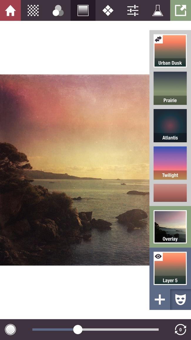 Stackables - Überlagerte Texturen, Effekte und Masken Screenshot
