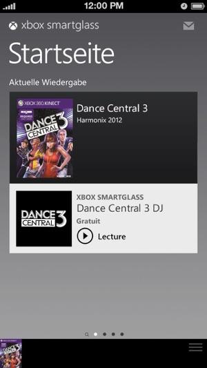 Xbox 360 SmartGlass Screenshot