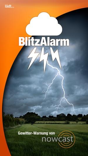 BlitzAlarm - Gewitterwarnung von nowcast Screenshot