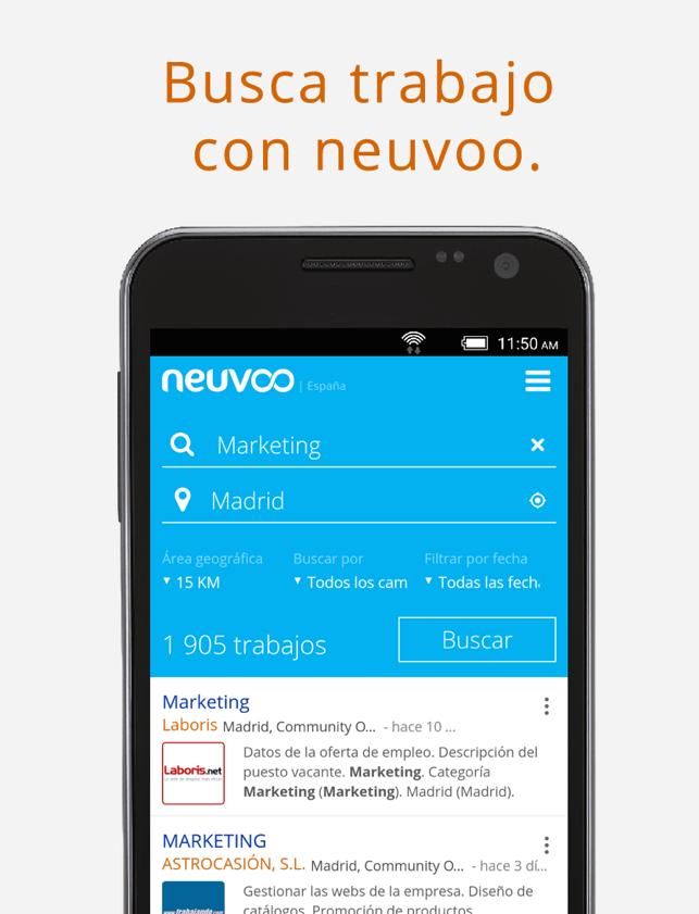 Búsqueda de empleo Neuvoo Screenshot