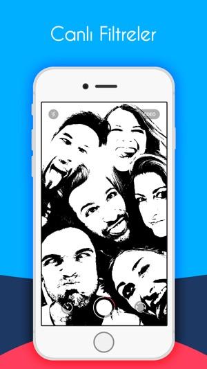 Piku Piku - Filtre kamera ile GIF ve videolar yapmak Screenshot
