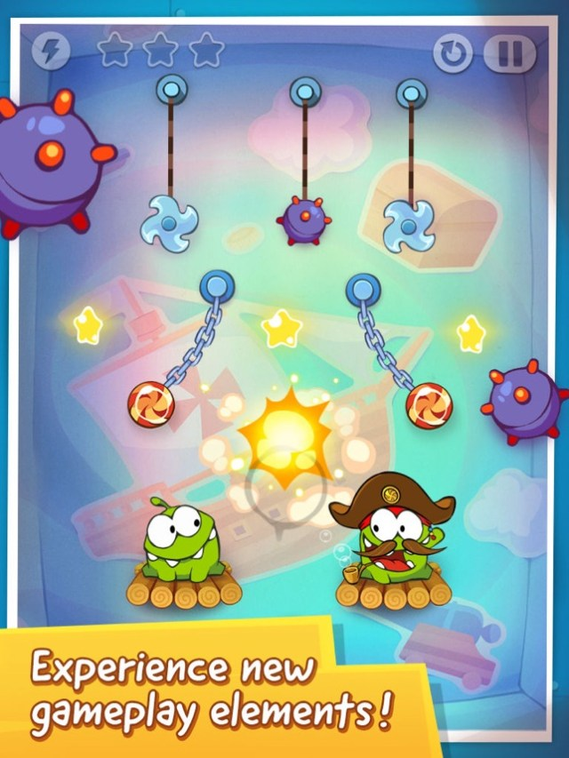 Cut the Rope: Time Travel™ Screenshot