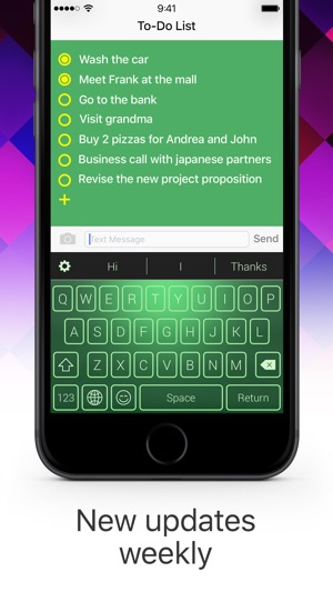Color Keyboard Maker - Custom Themes & Emoji Screenshot
