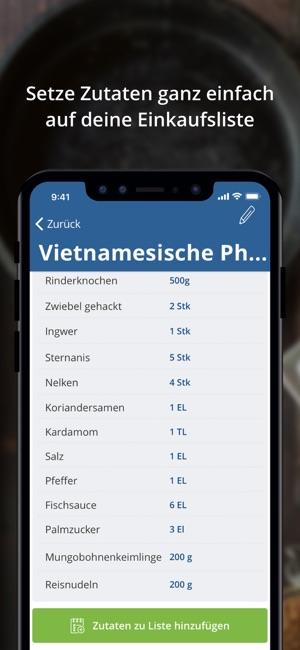 körbchen   Rezepte & Einkaufen Screenshot