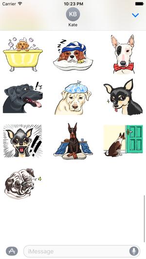 P.S. I Love Dogs - Dog Stickers Screenshot