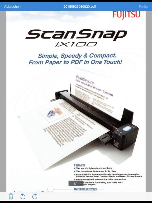 576x768bb Smart Home: Testbericht zum Fujitsu ScanSnap ix500 Gadgets Hardware Reviews Software Technology Testberichte Web