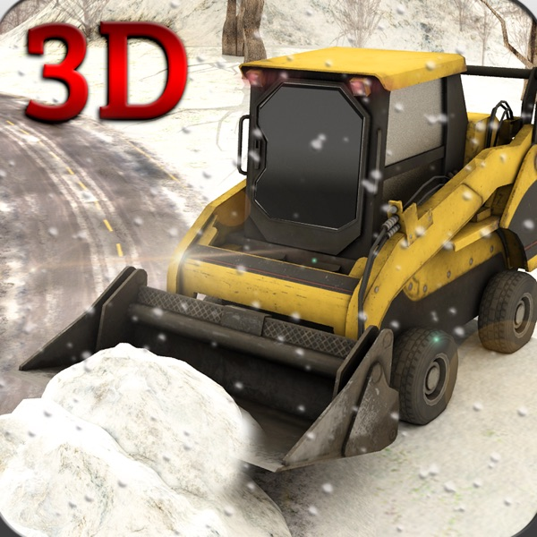 Snow Plow Rescue Truck Driving 3D Simulator