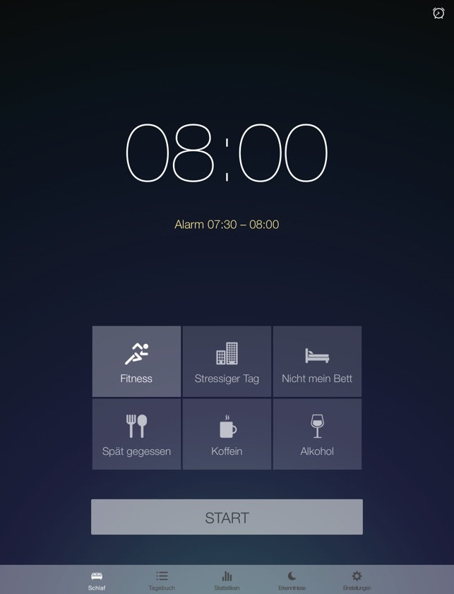 Runtastic Sleep Better Screenshot