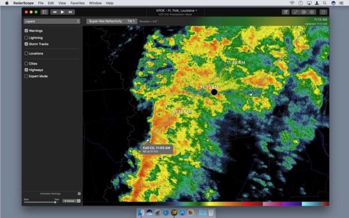 RadarScope Screenshot 01 ikzeg1n
