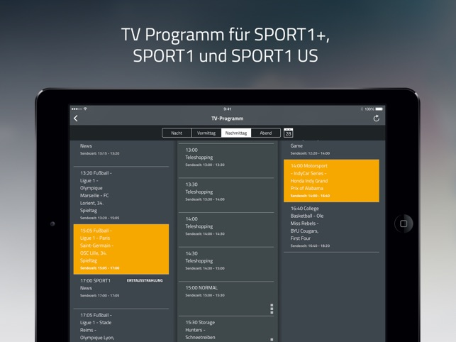 SPORT1 Video, Sport Clips, Livestream & TV Screenshot