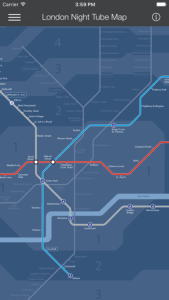 London Tube Map   LON on the App Store
