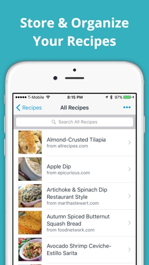 Shared Grocery List App