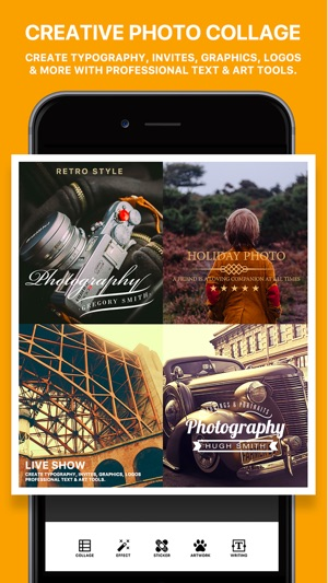Photo Poster - Photo Effects & Cool Image Filters for Instagram Snapchat Prisma Screenshot