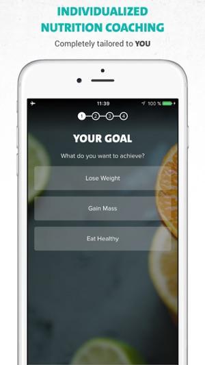 Freeletics Nutrition Screenshot