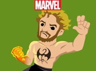 Marvel Stickers: Iron Fist
