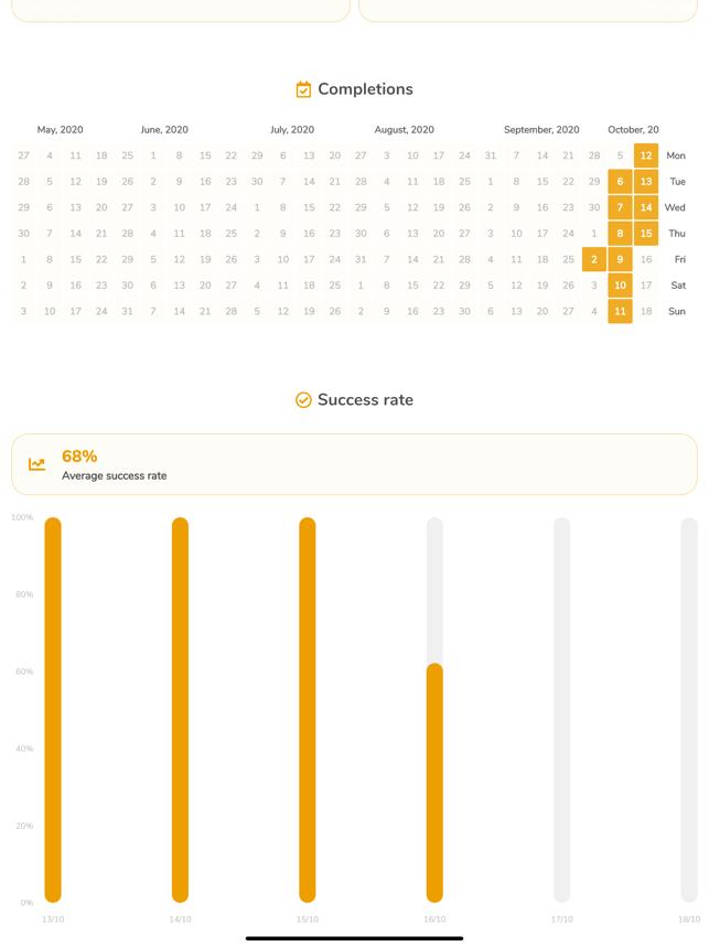 Timecap: Habit tracker & Timer Screenshot