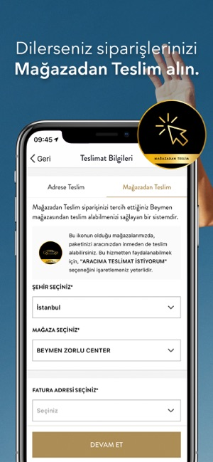 Beymen Screenshot