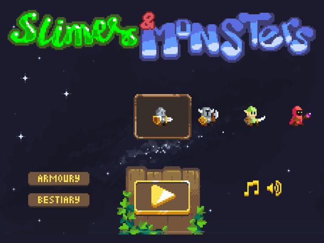 Slimes and Monsters Screenshot