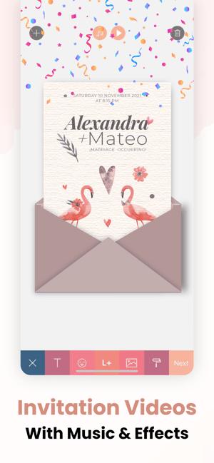 Invitation Maker ~ Screenshot