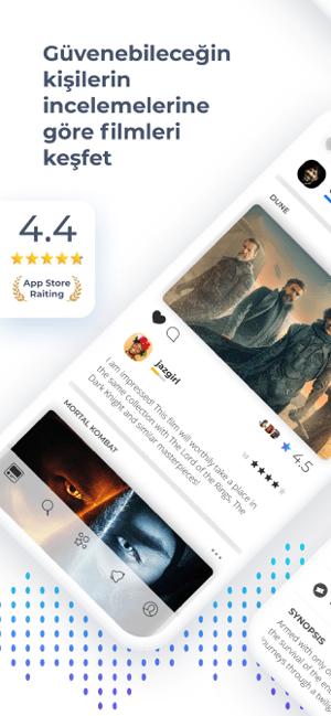 Raters: Dizi ve Film Önerileri Screenshot