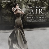 Anne Akiko Meyers, English Chamber Orchestra & Steven Mercurio - Air - The Bach Album  artwork