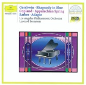 Leonard Bernstein & Los Angeles Philharmonic - Gershwin: Rhapsody in Blue, Copland: Appalachian Spring & Barber: Adagio for Strings  artwork