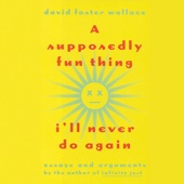 David Foster Wallace - A Supposedly Fun Thing I'll Never Do Again: Essays and Arguments (Unabridged)  artwork