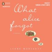 Liane Moriarty - What Alice Forgot (Unabridged)  artwork