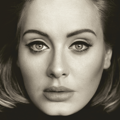 Album cover of '25' by Adele