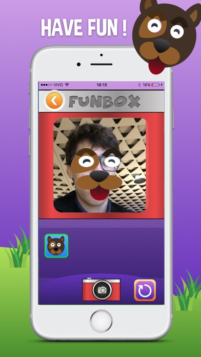 Screenshot do app FunBox
