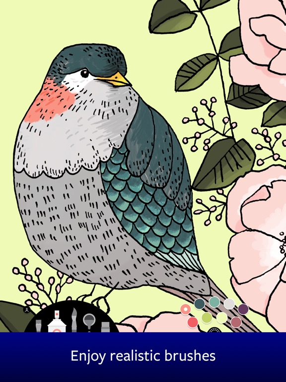 Lake: Artists' Colouring Books Screenshot