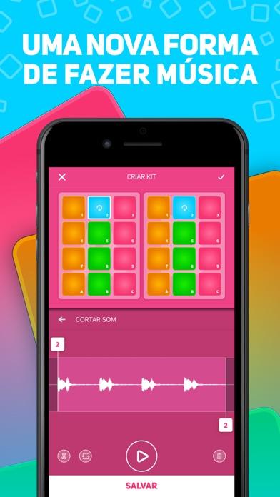 Screenshot do app SUPER PADS - Seja um DJ