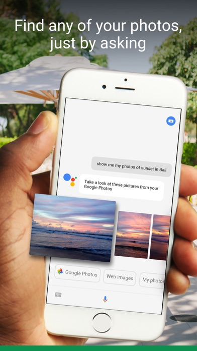 Screenshot do app Google Assistant