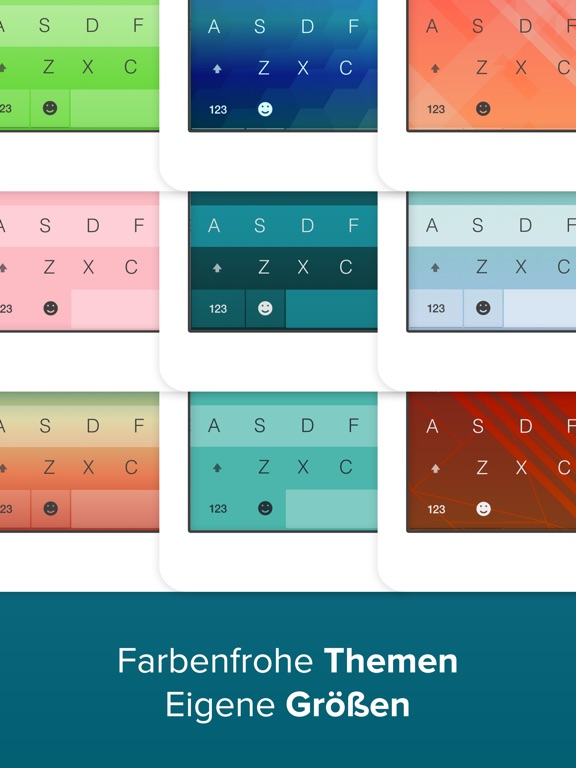 Fleksy - The Fast GIF Tastatur Screenshot