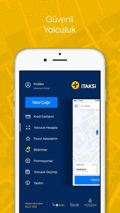 iTaksi Screenshot