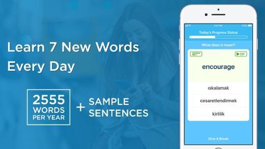Hello7 - Learn English Words Screenshot