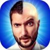 私は はげ 作る - 面白い  フォト モンタージュ と 最高 の ステッカー で あなたの 頭 剃る