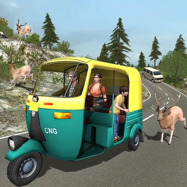 Tuk Tuk Auto Rickshaw Off Road