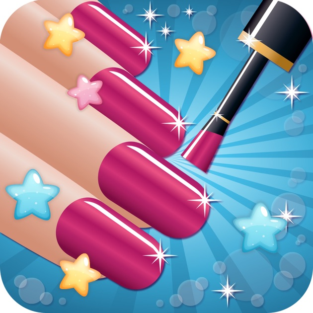 Nail Salon Beautiful S Makeup Makeover And Games Dressup Nails Art Polish On The App