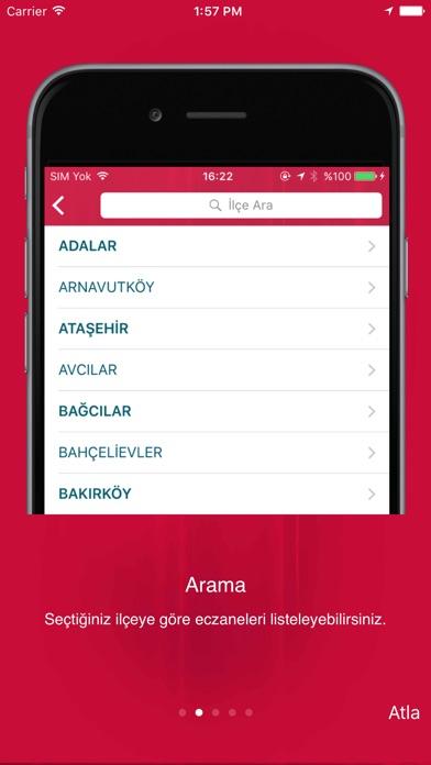 İstanbul Eczane - Nöbetçi ve Tüm Eczaneler Screenshot